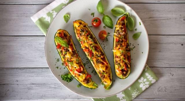 Cercate un secondo piatto veloce? Provate le zucchine ripiene con il Bimby
