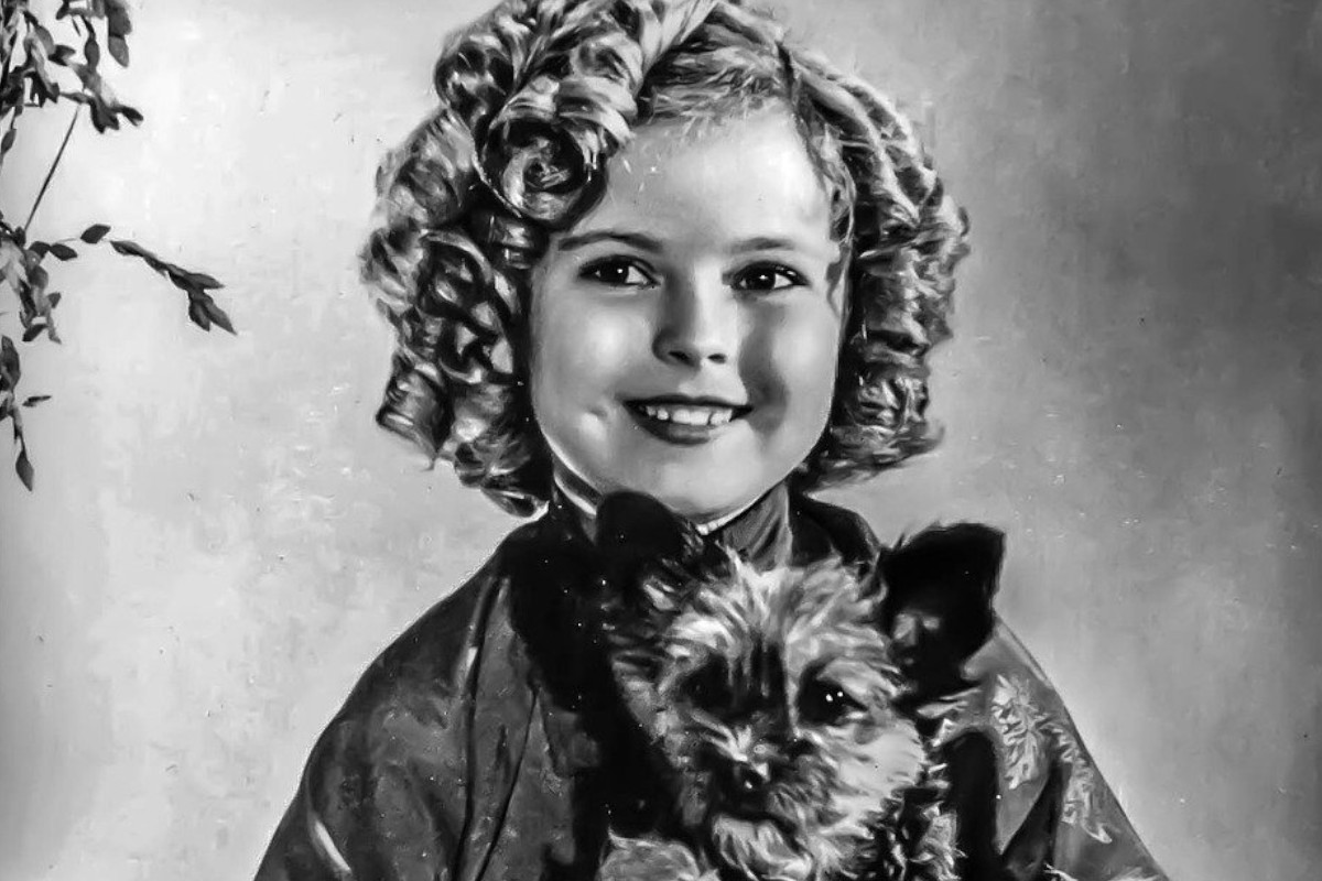 l'attrice Shirley Temple