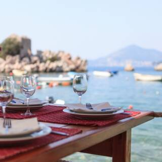 Da Vittorio a Portofino: la location tra nuovi piatti e proposte iconiche