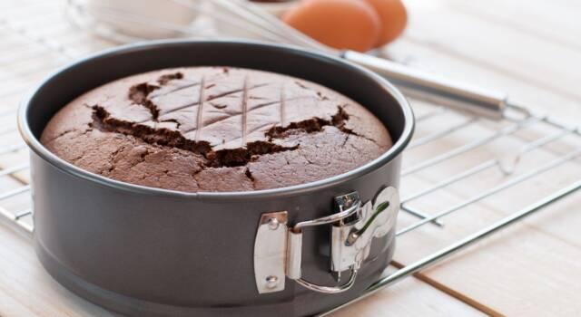 Un dolce ancora più buono? La nostra torta al cioccolato al latte