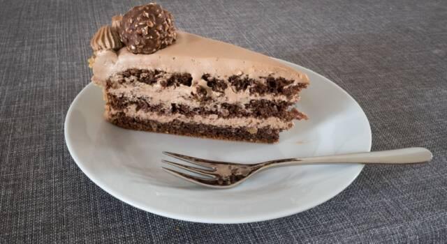 Torta Ferrero Rocher: la ricetta originale per le grandi occasioni