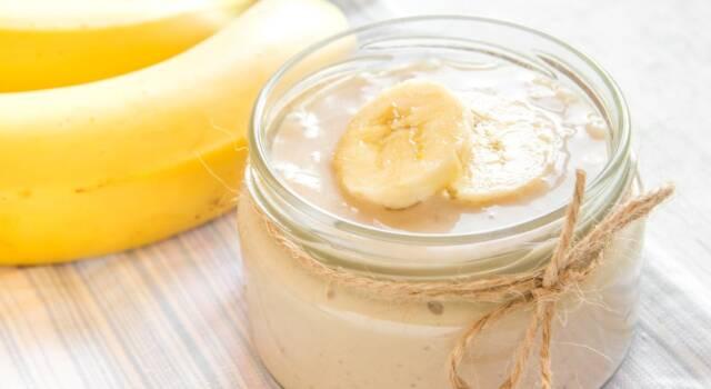 Crema alla banana: la ricetta classica di un dessert alla frutta