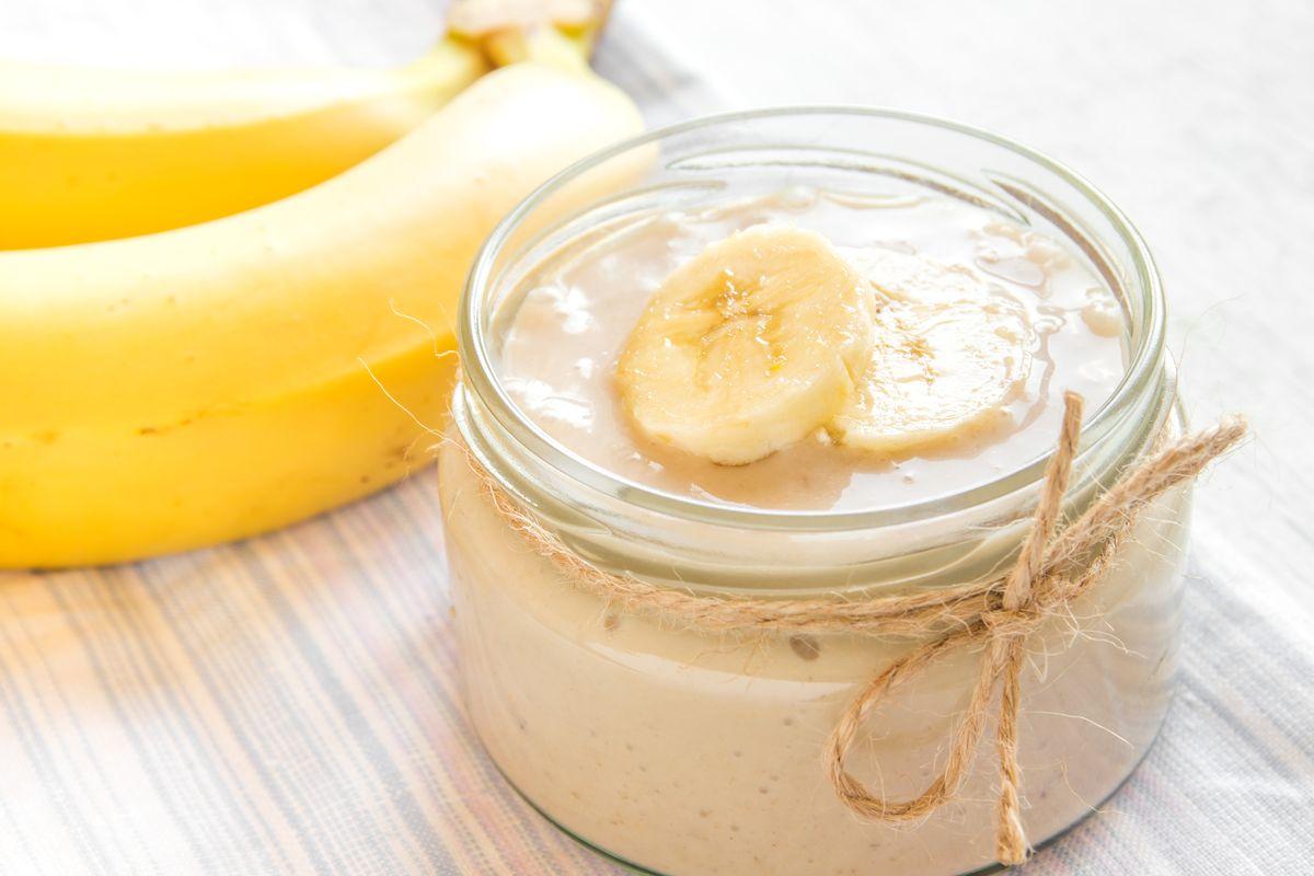 crema alla banana