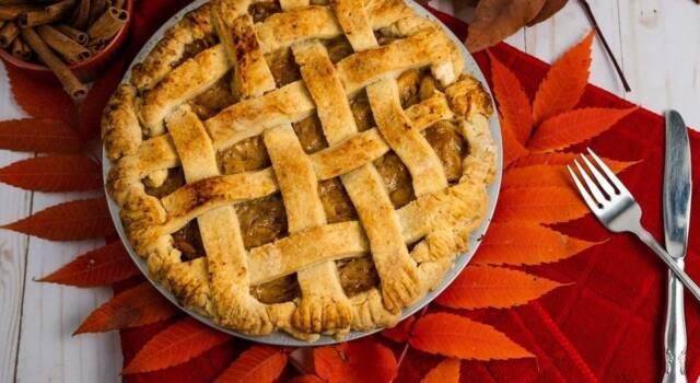 Profumo di autunno con la crostata di castagne