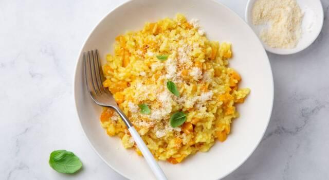 Facile, veloce e buonissimo il risotto alla zucca con il Bimby