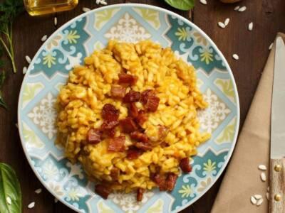 Risotto zucca e pancetta: la ricetta per un primo piatto cremoso e autunnale