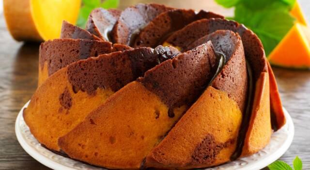 Golosa e perfetta per la merenda… la nostra torta di zucca e cioccolato