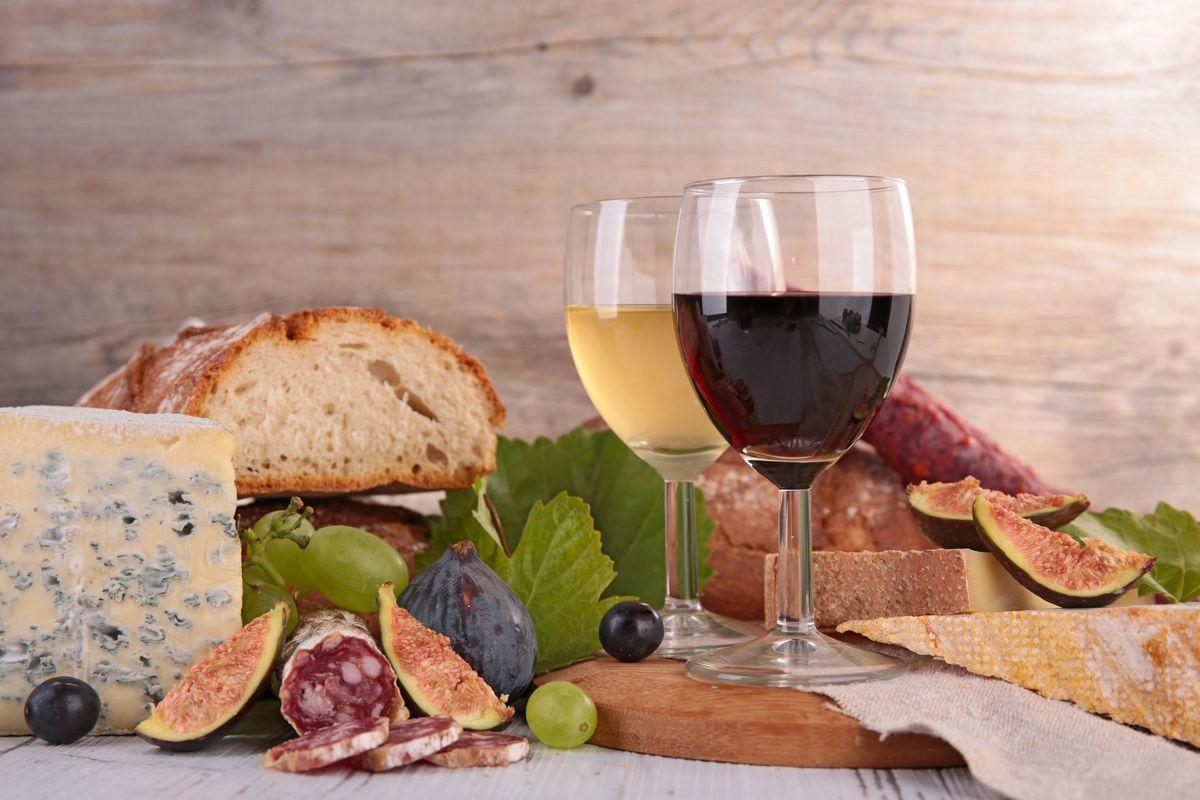 vino cibo aperitivo