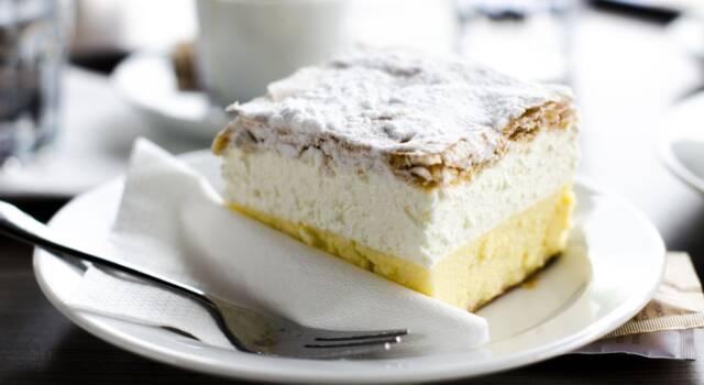 Non serve andare in Slovenia per gustare la Bled cake!