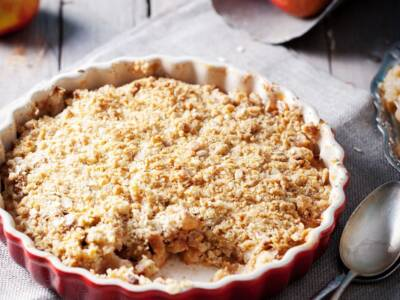 Crumble di mele: un dolce anglosassone goloso, da preparare anche con il Bimby!