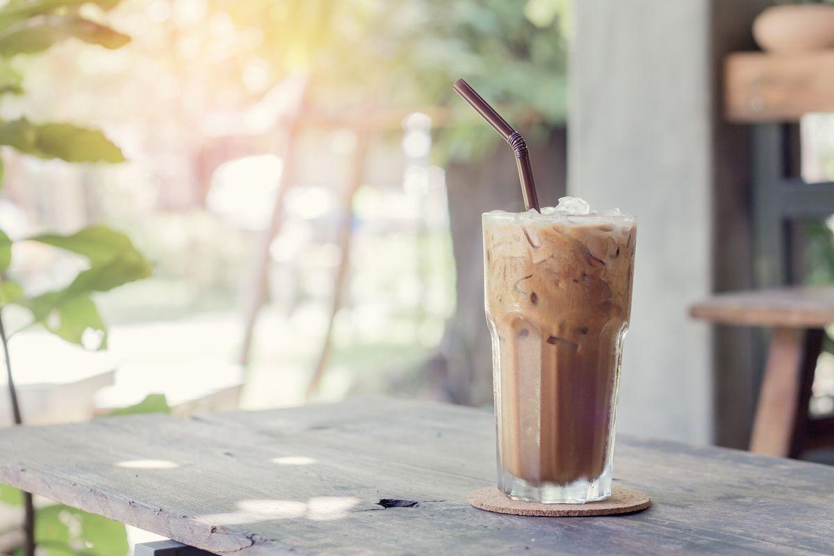 Frullato al caffè proteico