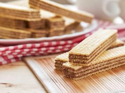 La ricetta dei wafer fatti in casa con e senza piastra