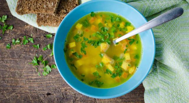 Insolita e gustosa zuppa imperiale