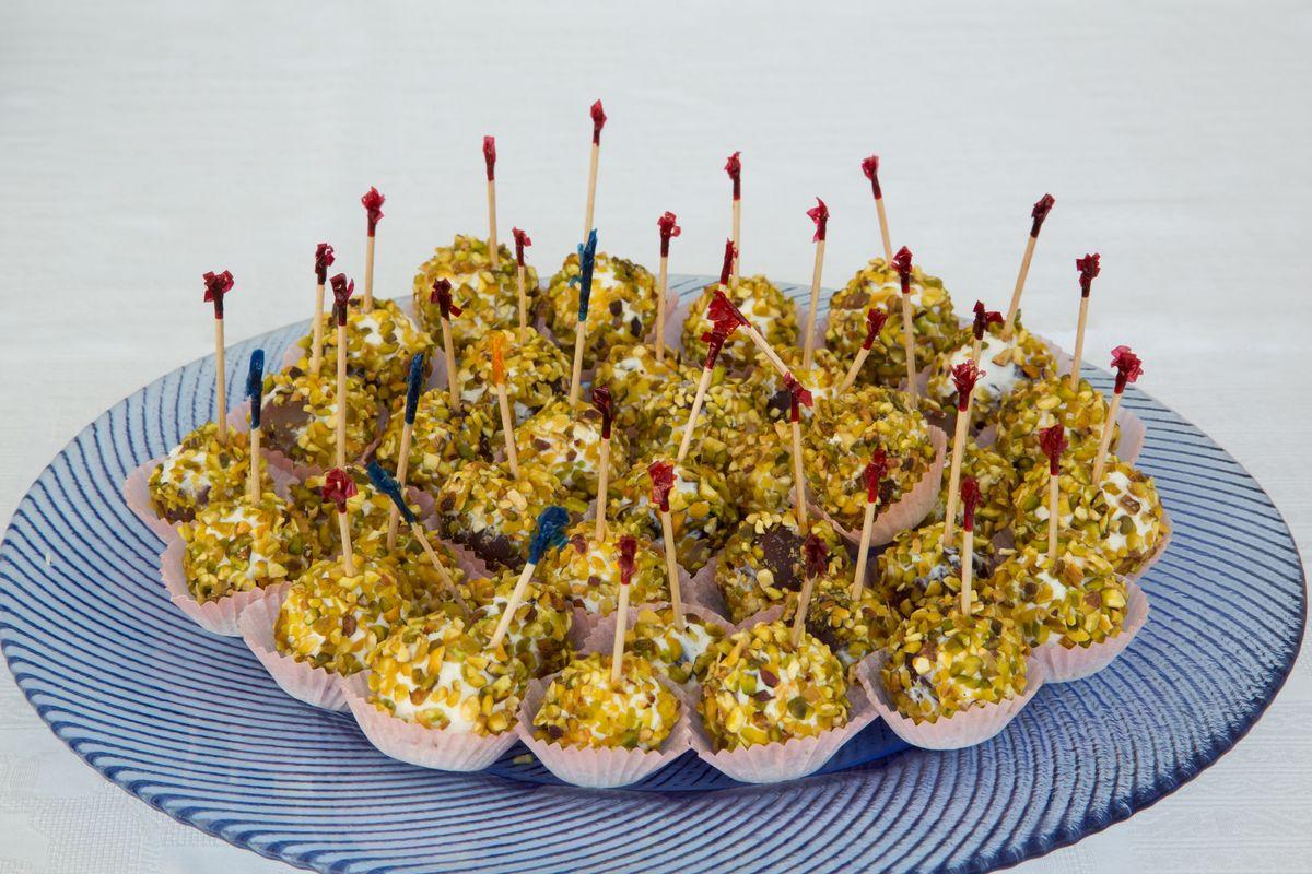 Cake pops salati