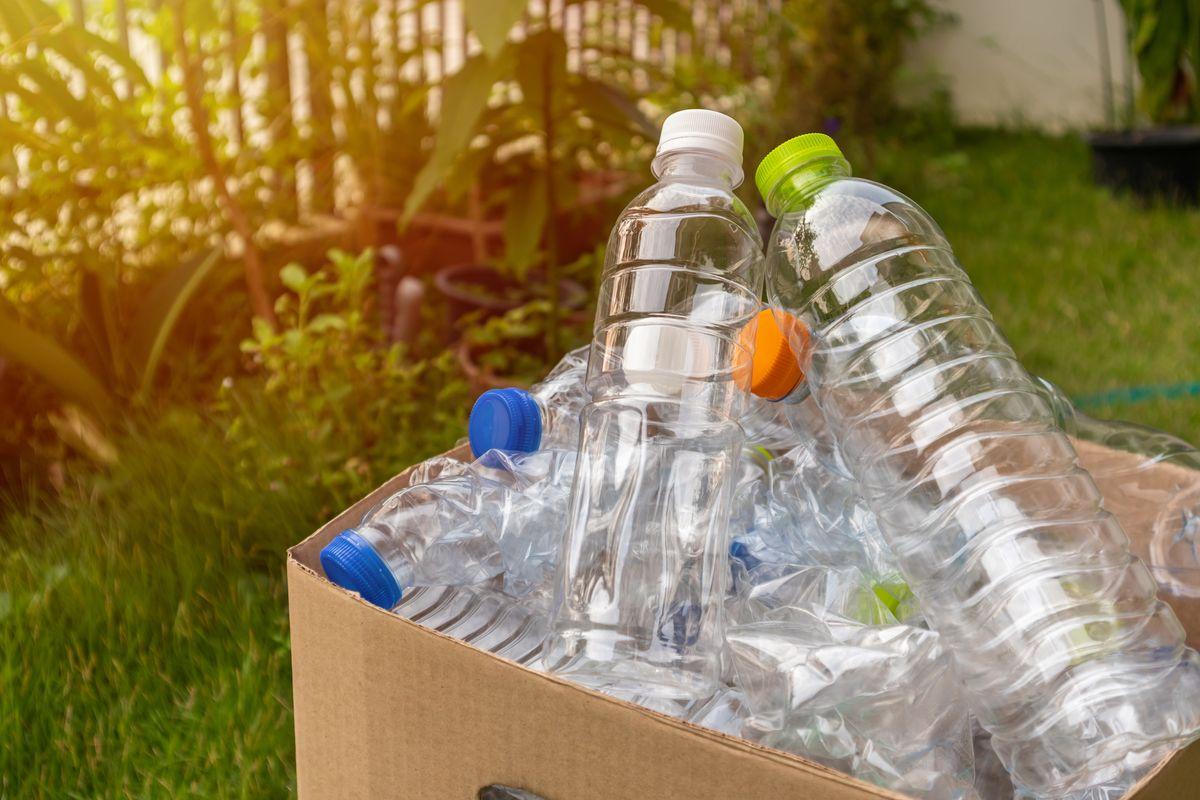 Bottiglie di plastica scadenza