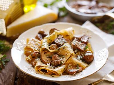 Pappardelle ai funghi porcini: la ricetta originale