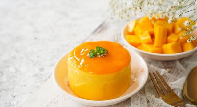 Semifreddo ai cachi: allegria e gusto in un unico dolce