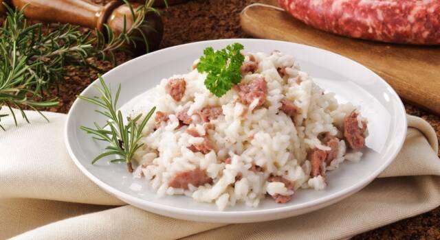 Dal suggerimento in Dinner Club alla ricetta del risotto con salama da sugo
